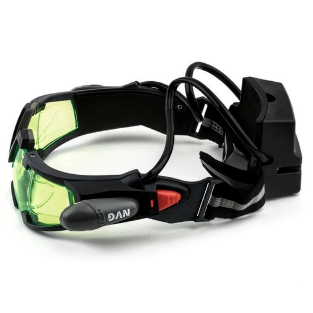 Night Vision Goggles Flip Out Blue Led Lights