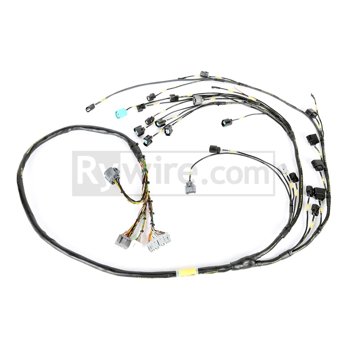 hight resolution of rywire mil spec tucked k series harness ver 2 with quick disconnect