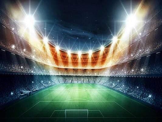 kate lights backgrounds stadium