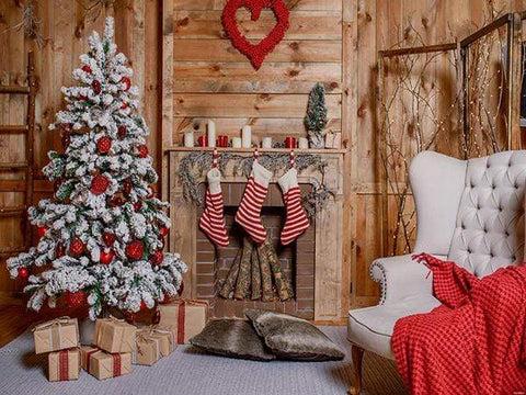 christmas chair back covers ireland swivel desk backdrops photography katebackdrop kate stocking backdrop photo background studio props