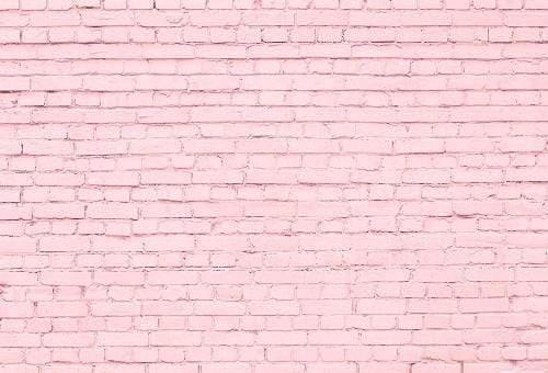 kate pink brick wall