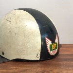 Rare Cromwell Bp Super Plus Vintage Racing Helmet The Noll 1950 S E Projectvintage Co Uk