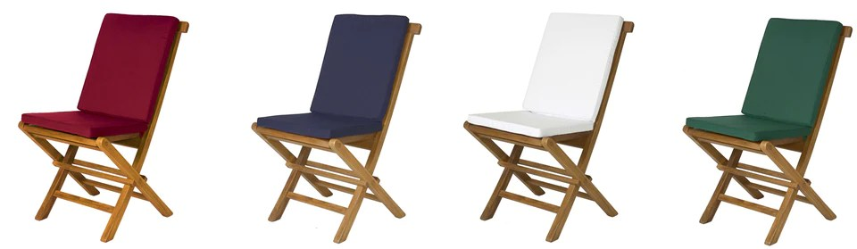folding chair with cushion non slip cushions for chairs magneta brand outdoor