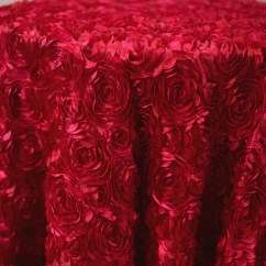 Chair Covers And Linens Indianapolis Orange Recliner Linen Main Street Weddings Events Apple Red Rosette