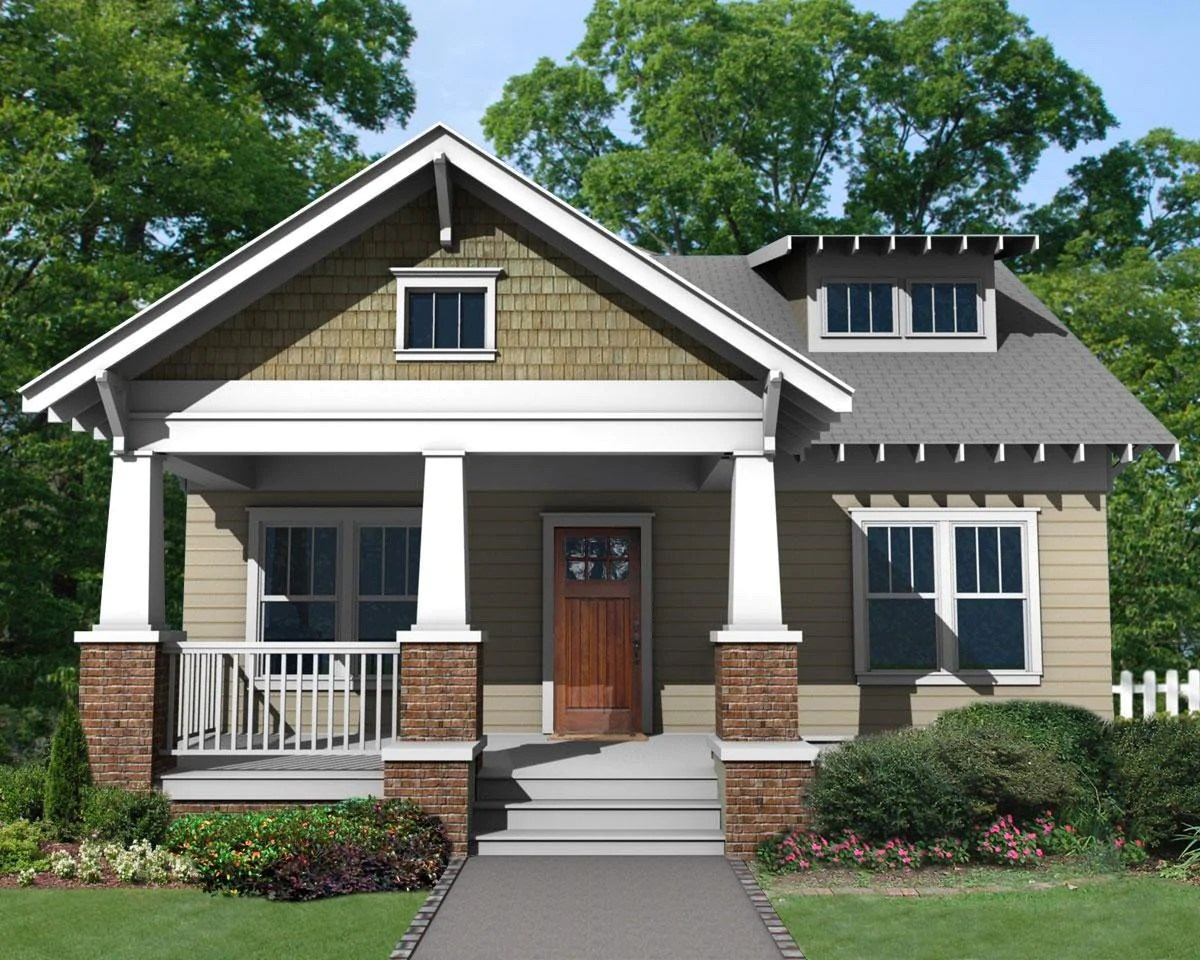 Bungalow House Plans with Front Porch