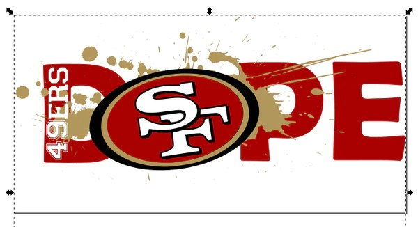 Download San Francisco 49ers Football DOPE SVG PNG Digital Design ...