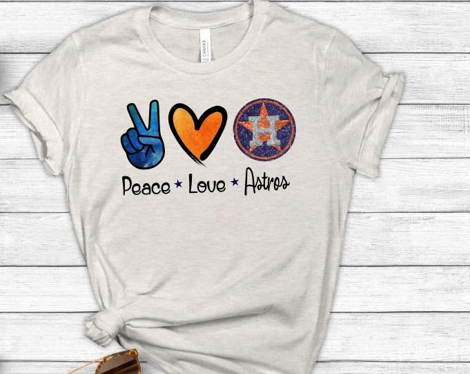 Download Peace Love Houston Astros Sublimation PNG Digital Design ...