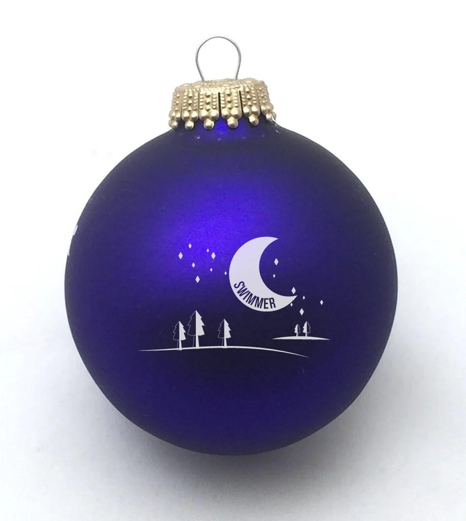 Run Burn Crazy Christmas Ornament