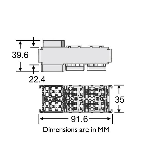 micro fuse box holder