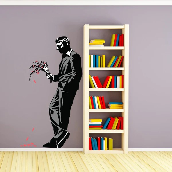 a late date banksy wall decal sticker banksyshop
