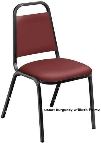 standard banquet chairs blue chair cover hire model 9100 vinyl padded stack podiums direct