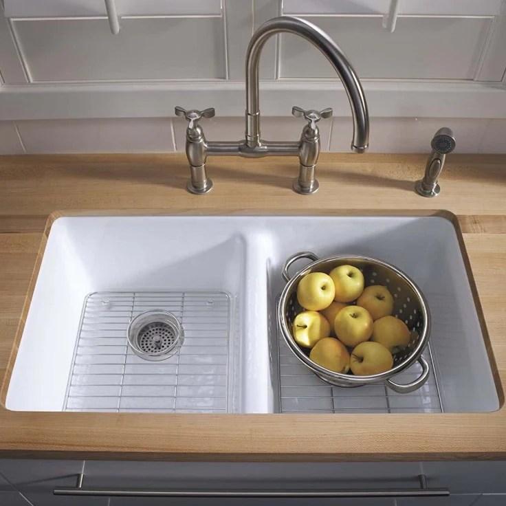 fireclay vs cast iron kitchen sinks