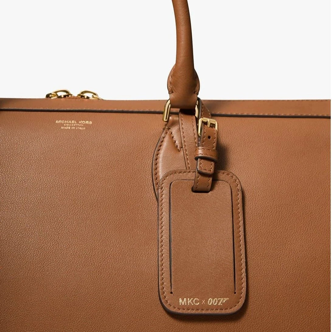 Mkc X 007 Bond Calf Leather Carryall By Michael Kors