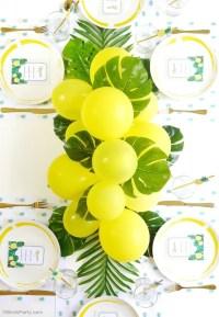 Pineapple Birthday Party Printables Supplies   BirdsParty.com