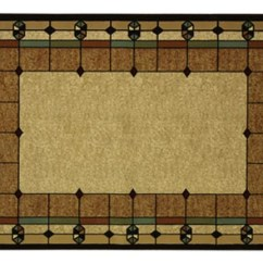 Kitchen Window Valances Nook Bench Art Deco Area Rug, 5x7 Stained Glass Design Arts And ...