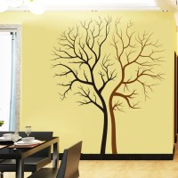 Black Brown Tree Wall Decal | Wall Vision