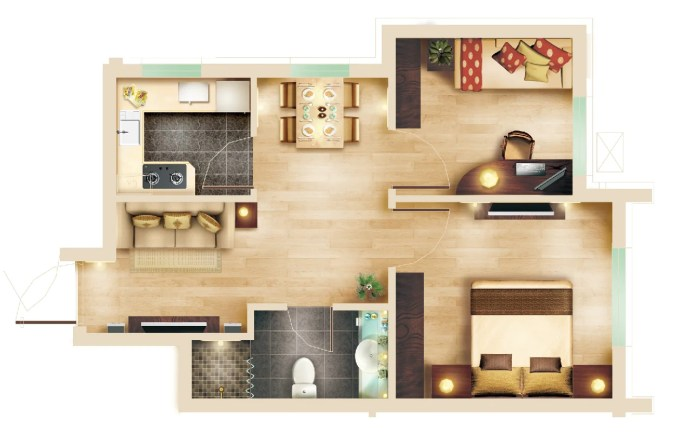 15 Types of Interior Design Layouts Photoshop PSD Template V.3