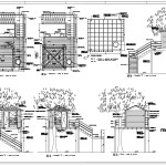 Free Treehouse Details Cad Design Free Cad Blocks Drawings Details