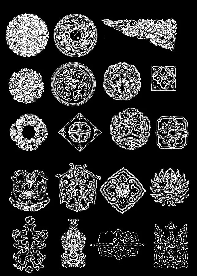 Over 1000+ Architecture Ornamental Elements(Best Collections)-Architecture Decoration Drawing,Decorative Elements,Architecture DecorationDrawing,Architecture Decor,Interior Decorating
