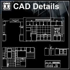 Kitchen Cabinet Design Template Ninja System Pulse Bl201 Elevation – Cad | Free Blocks,drawings ...