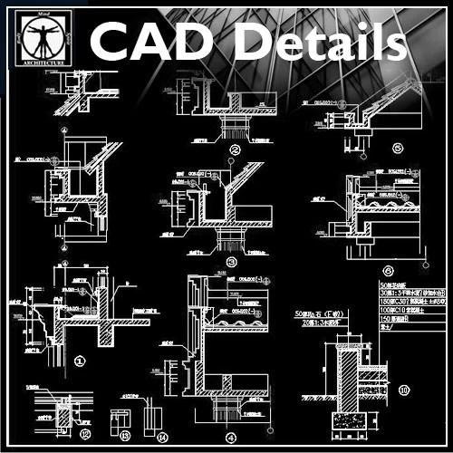 Architecture Details Collection  CAD Design  Free CAD