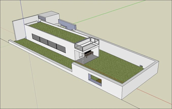 Download 24 Types of Le Corbusier Architecture Sketchup 3D Models(*.skp file format).