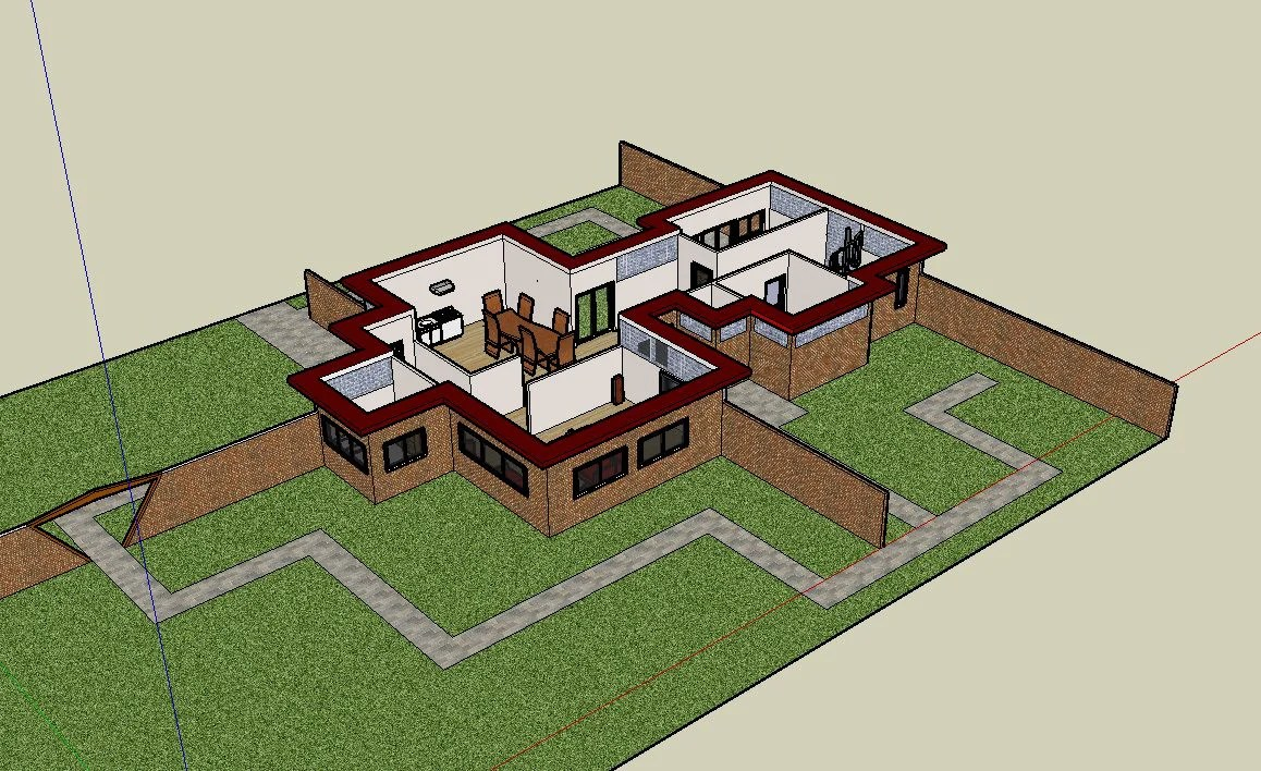 Download 16 Projects of Frank Lloyd Wright Architecture Sketchup 3D Models
