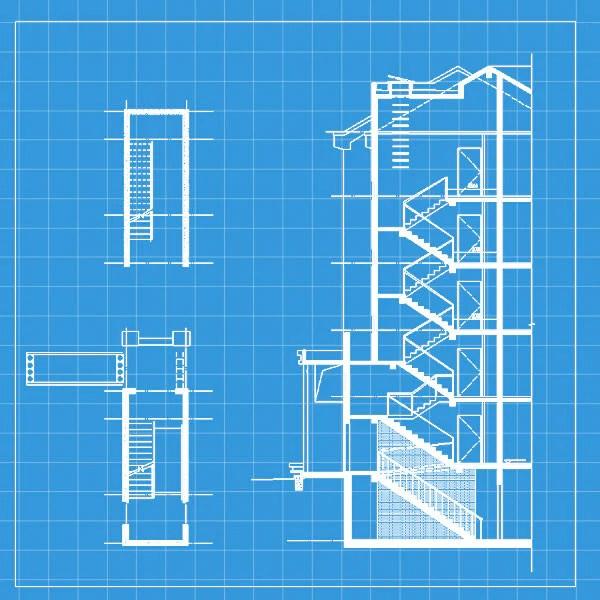 Free Stair Elevation Cad 2 CAD Design Free CAD Blocks