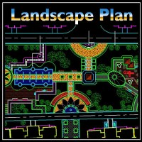 Residential Landscape Design 9  CAD Design