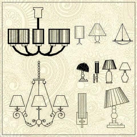 Free Lamp blocks
