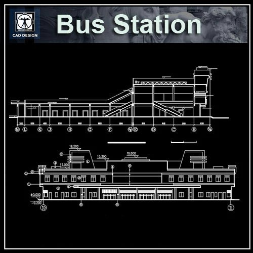 bus terminal in autocad
