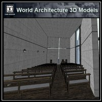 Sketchup 3D Architecture models- Church of Light (Tadao ...