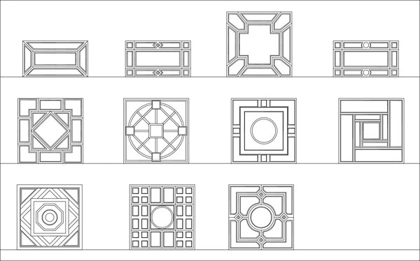 all chinese decoration elements