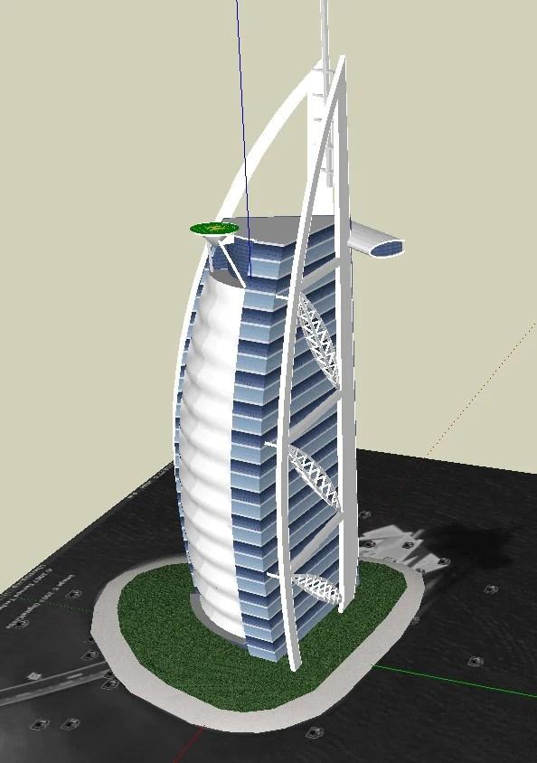 Sketchup 3D Architecture models Sailboat 3d building