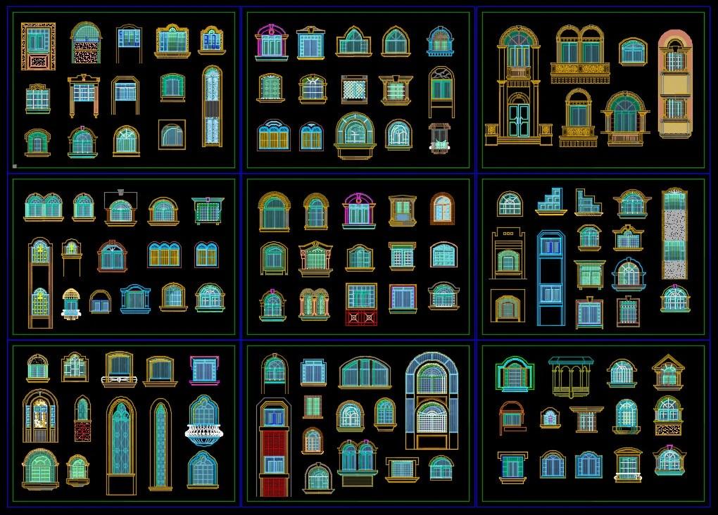 225 Types of Door & Window Design(Best Recommanded!!)