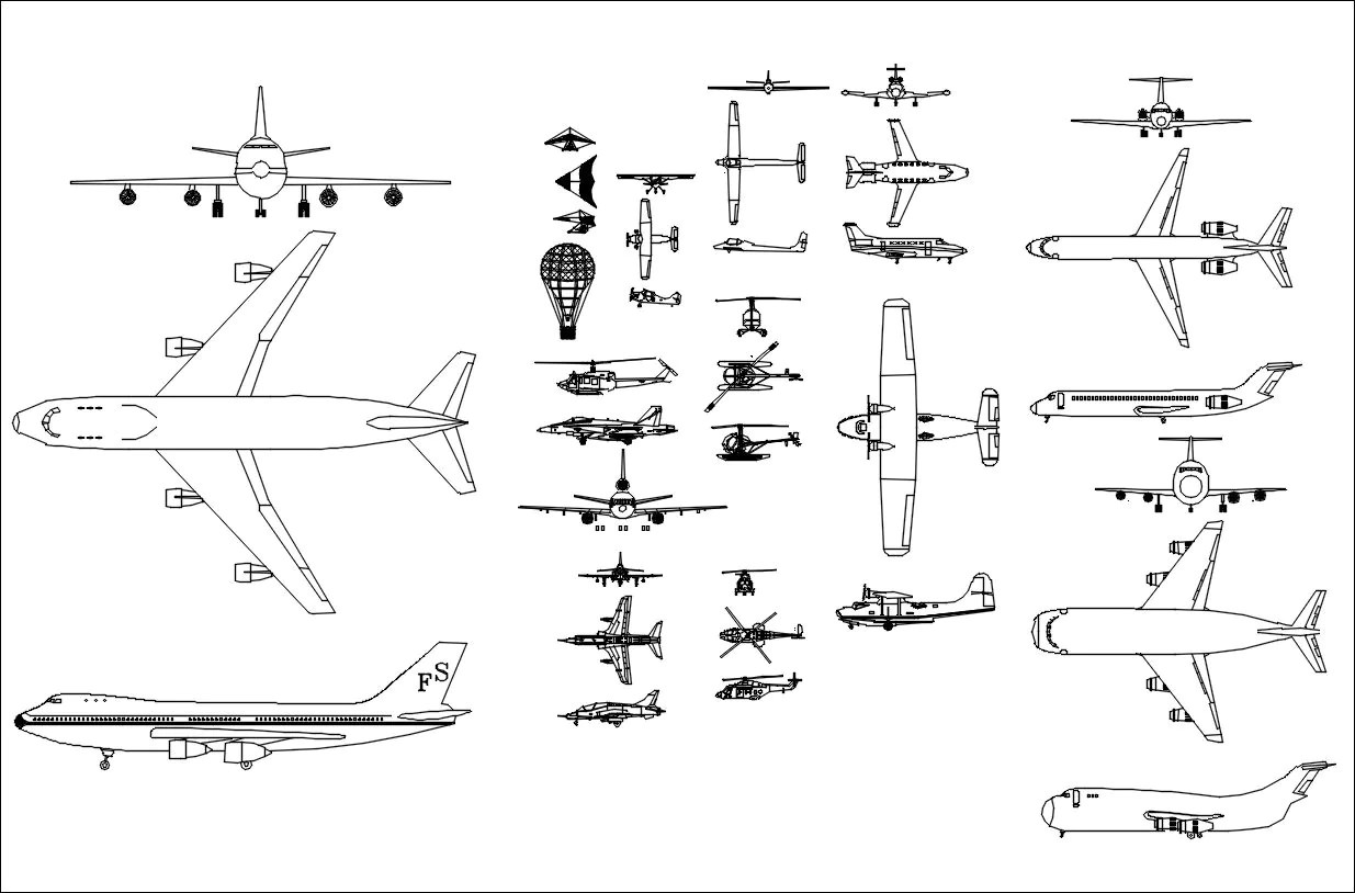 Autocad Drawing Plane