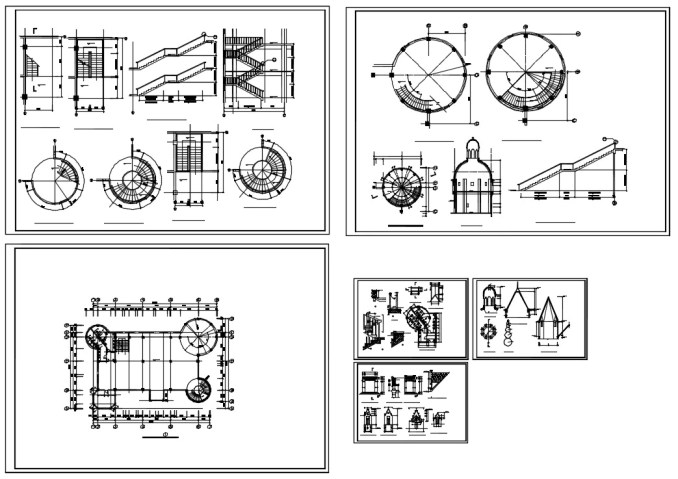 Castle Cad Drawings--Plans,elevation,details