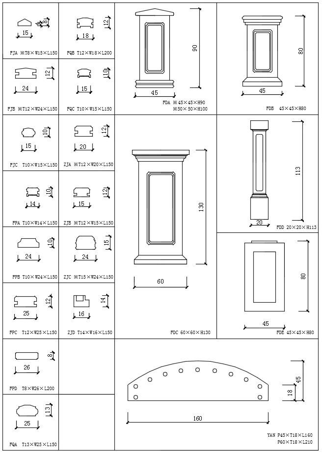 Over 1200+ Decorative Elements,Crown molding,Chair-rail,Door Trim,Skirting Board,Corner Post,Plain Molding