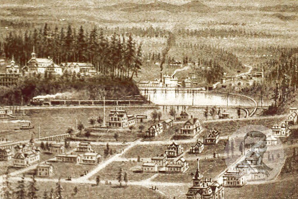 Lacey Washington Historical Buildings 1900