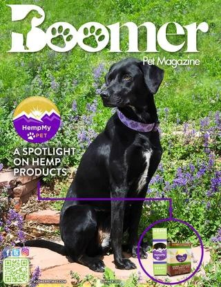 HempMy Pet is the cover story for Boomer Pet Magazine, Summer 2017