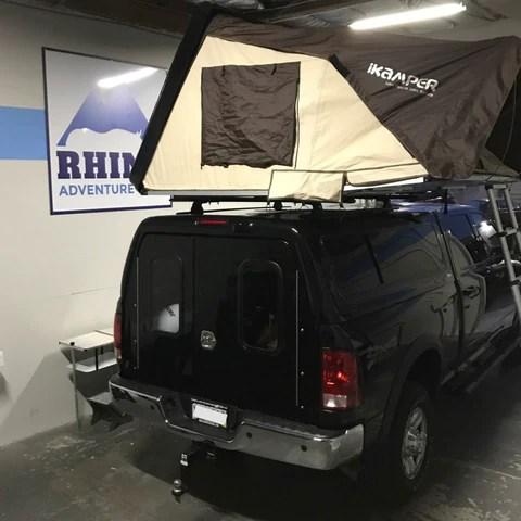 rhino rack and ikamper skycamp roof top