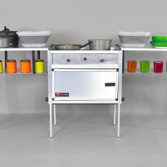 Stove Kitchen Aid Professional 6000 Hd Trail Kitchens The Camp With Integrated Rhino Adventure Gear Llc