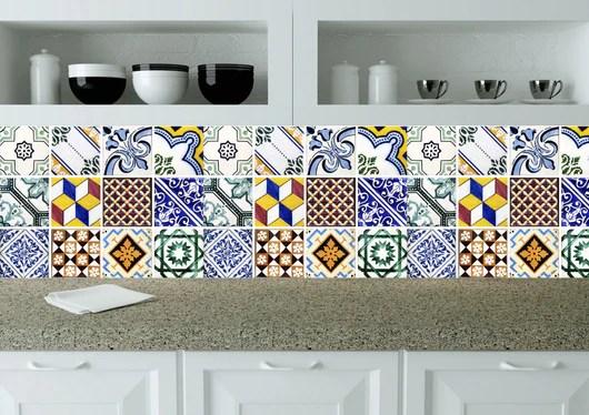 kitchen tile set of 24 tiles decals stickers mixed tiles for shower bathroom walls accessories fliesenaufkleber v4