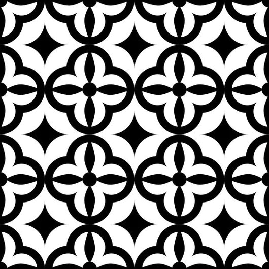 backsplash black and white tile stickers bathroom decals mexican tile set of 20 decals wall mural kitchen decals d1