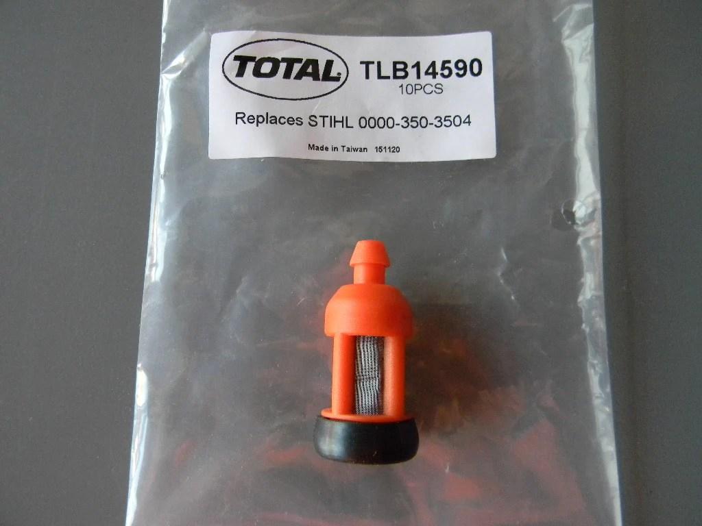 medium resolution of tlb14590 fuel filter stihl fits many models 045 046 070 075