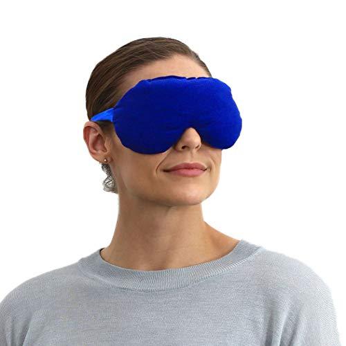 sensacare lavender eye pillow aromatherapy eye mask for sleeping wei