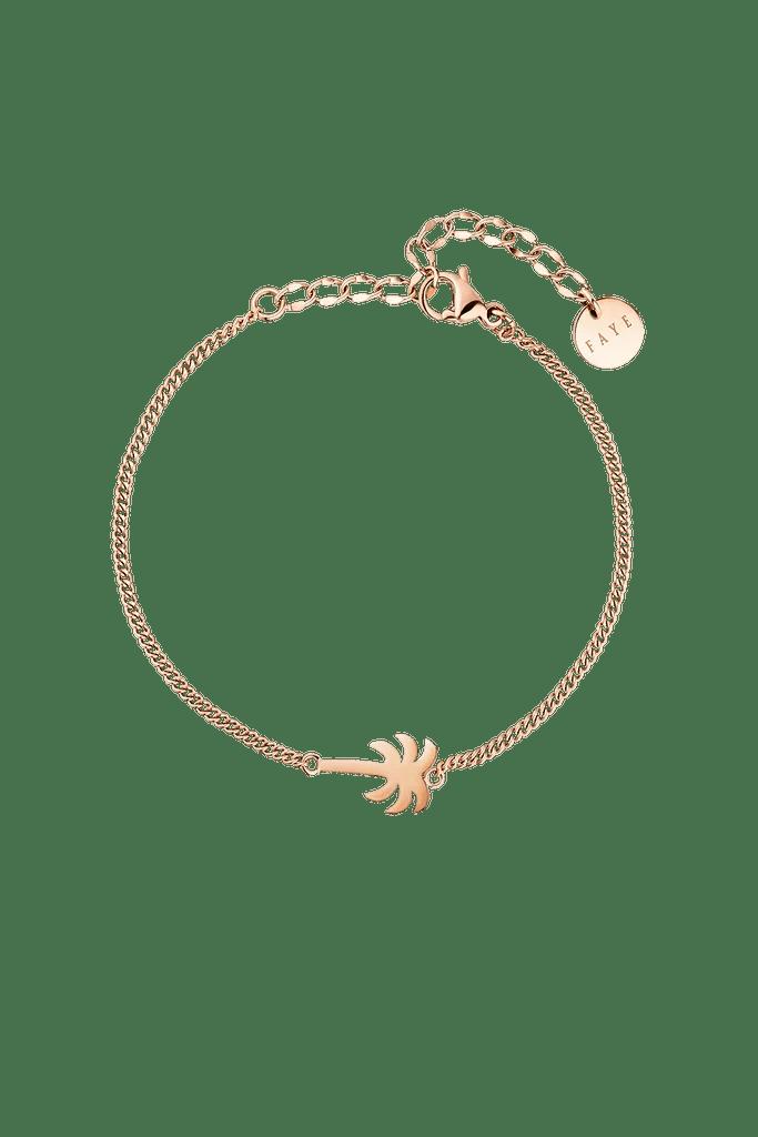 Palm Tree Bracelet Rose Gold Paul Valentine Deutschland