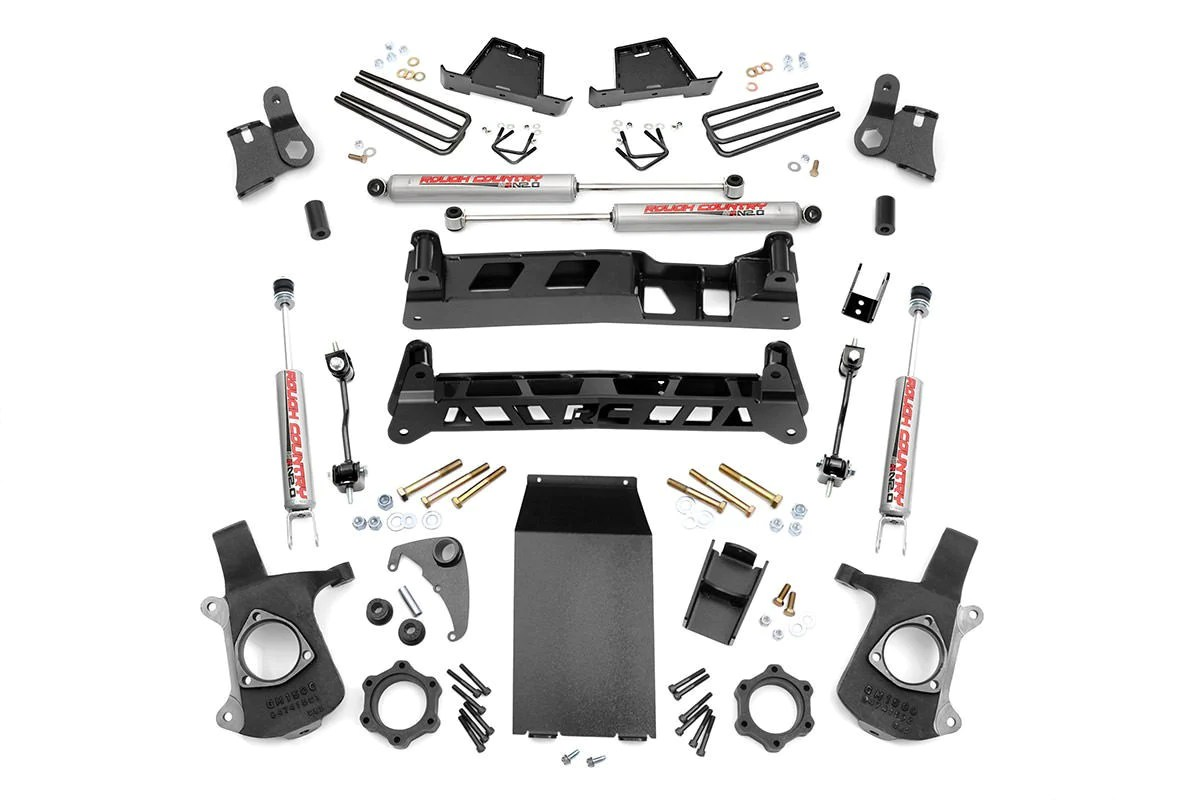 medium resolution of 4in gm ntd suspension lift kit 99 06 silverado 1500 4wd 99 06 sierra 1500 4wd