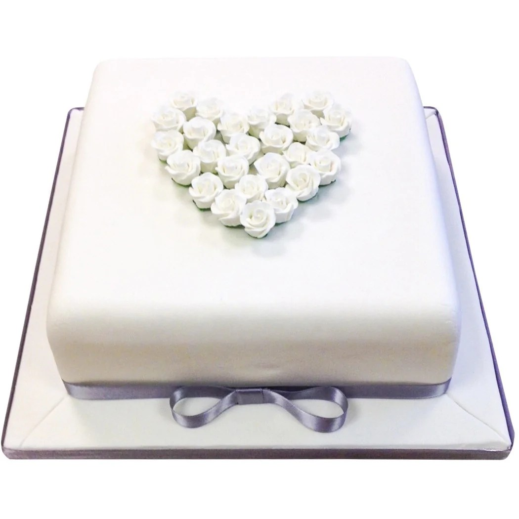 Silver Wedding Anniversary Cake Buy Online Free Uk Delivery New