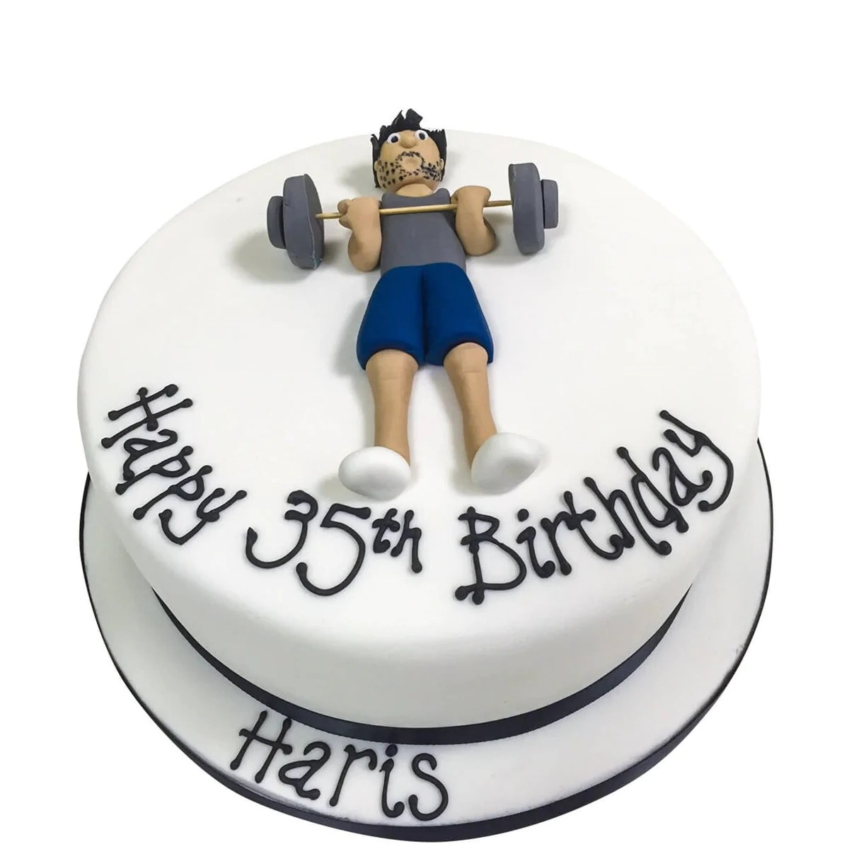 Gym Cake Buy Online Free UK Delivery New Cakes